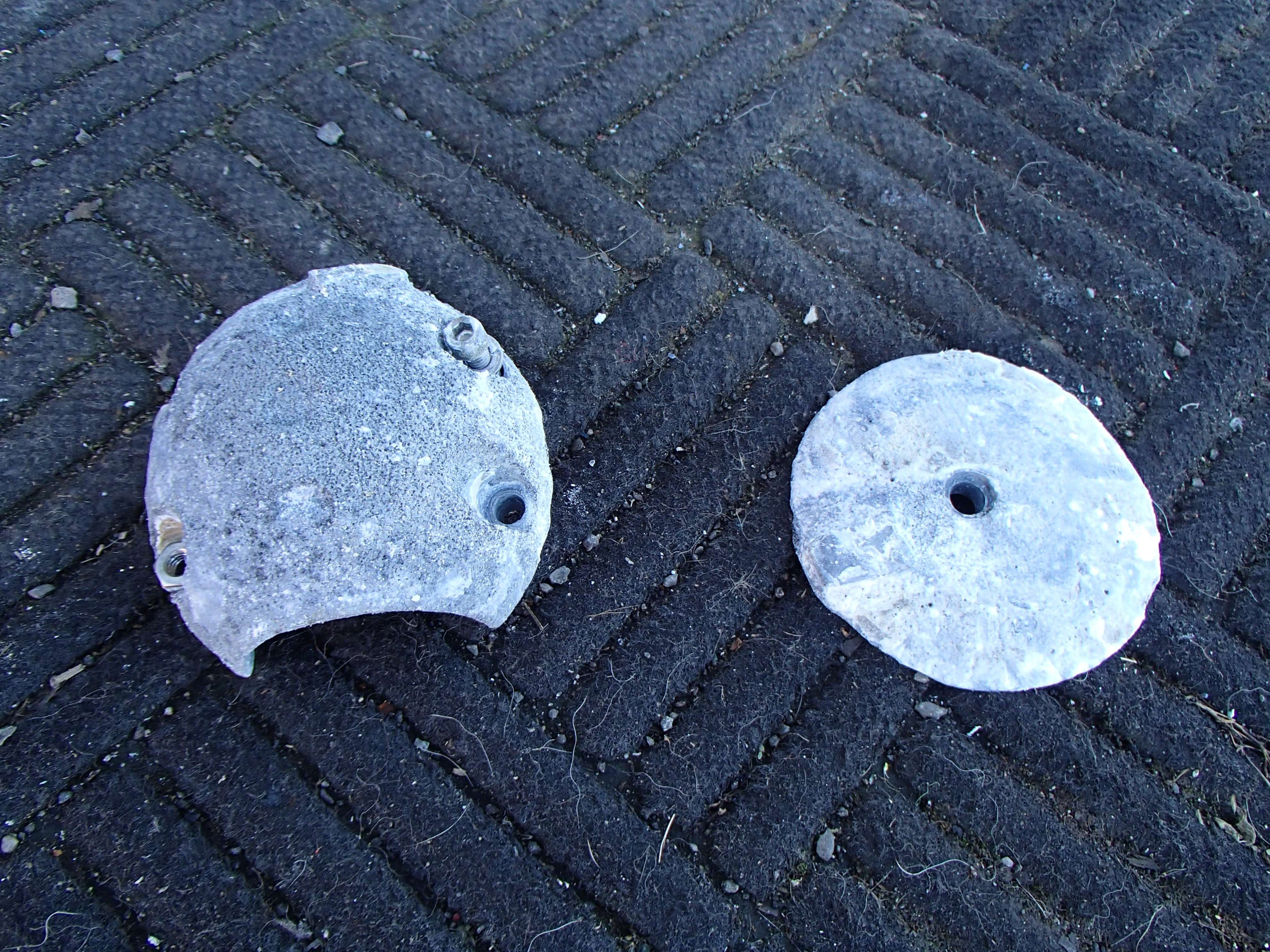 how to clean boat anodes